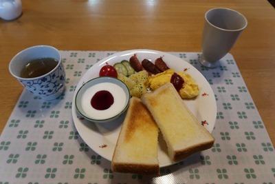 新冠ふかふか亭 朝食