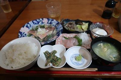 旅の館 阿檀 夕食