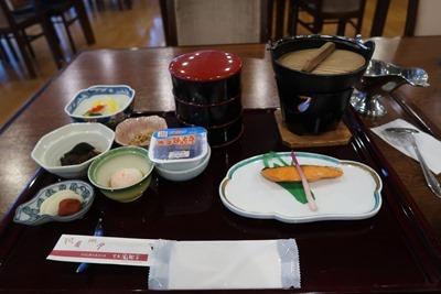 玄武風柳亭 朝食