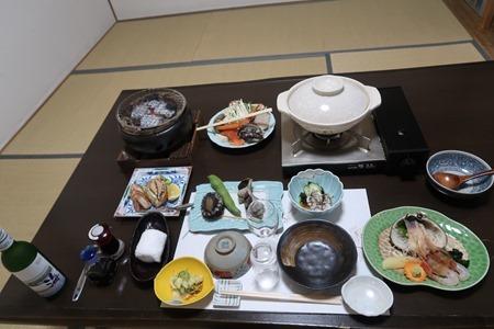 高島旅館 夕食 おまかせコース