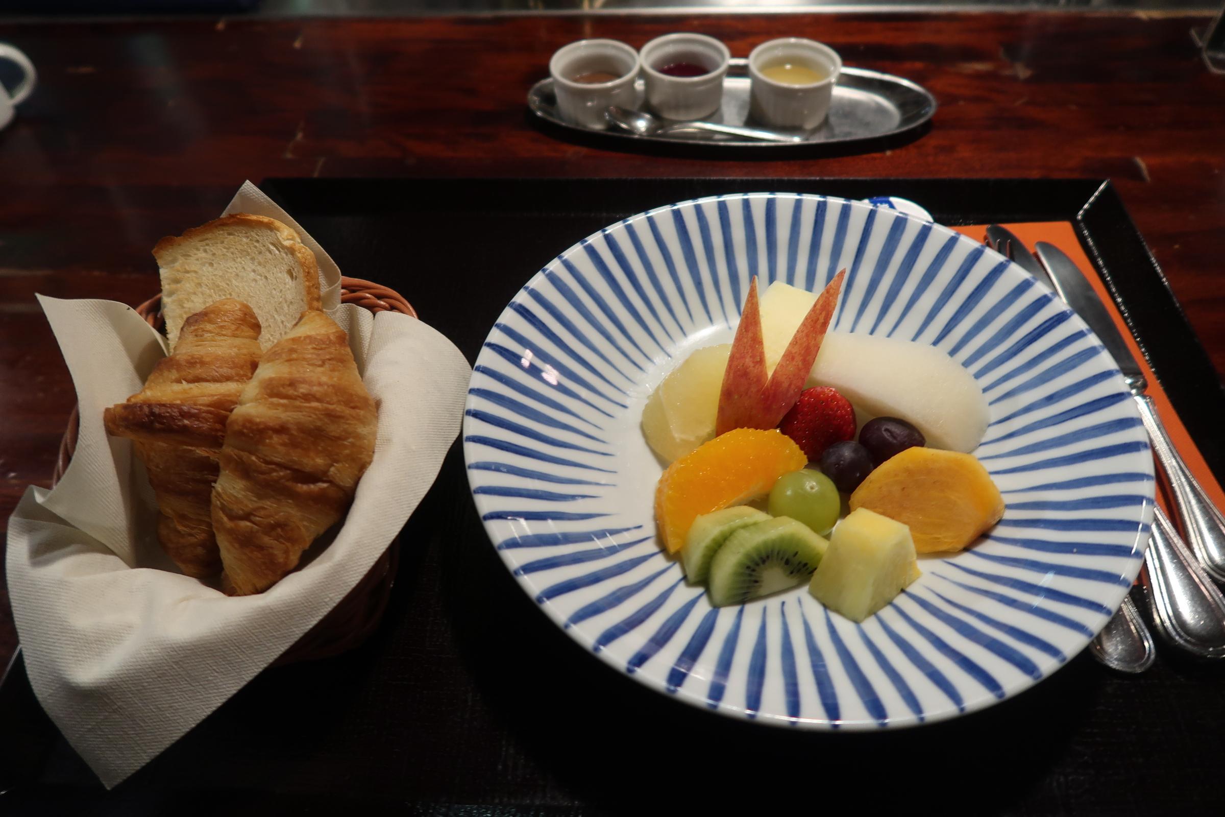 ふく井ホテル 朝食 コンチネンタル