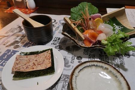 小樽ふる川 夕食